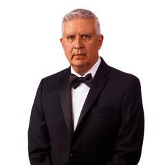 Handsome tuxedo man