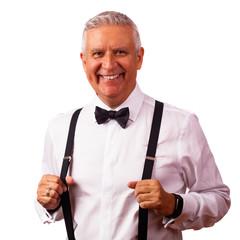 Handsome bow tie man