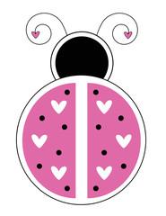 Happy Valentines Day Ladybug
