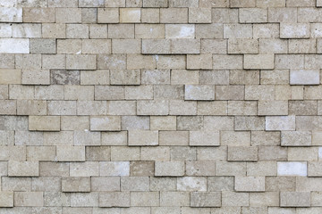 Old Grey Bricks Wall Pattern.