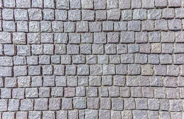 background of cobble stones