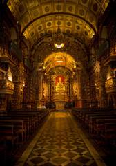 Sao Bento Monastery (Abbey of Our Lady of Montserrat) in Rio de Janeiro, Brazil