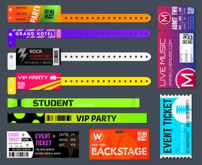 Event bracelets set