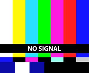 No TV signal