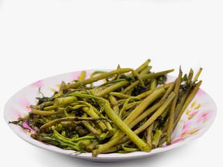Stir Fried Water Spinach , healthy food..