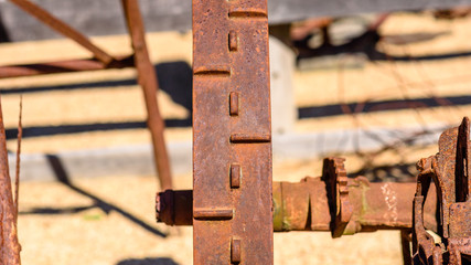Rusty Farm Equipment