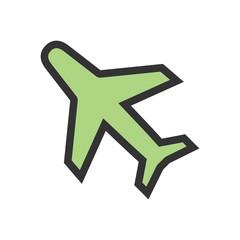Aero plane icon