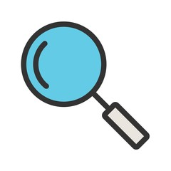 Search, Magnifying glass