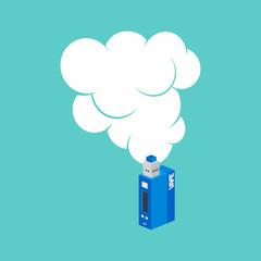 isometric block electric cigarette personal vaporizer