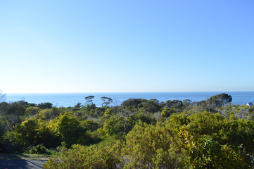From Point Nepean Quarantine Station looking over Police Point and Portsea Village-01