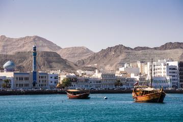 Daus im Hafen von Muscat Oman