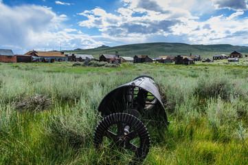 Old, abandoned Mining Equipment