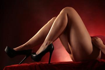 Schuhe und Beine