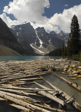 Lake Moraine - Banff National Park - Alberta - Canada