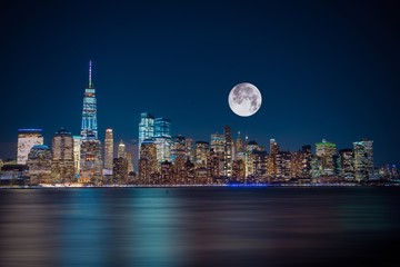 New York City Moonlight