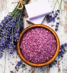 Lavender produktów spa