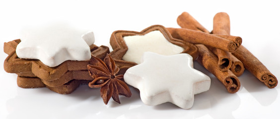 image of different sweets closeup