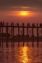 U Bein Bridge - Mandalay - Myanmar