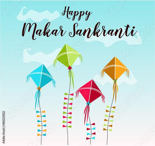 Makar sankranti greeting card or background vector illustration makar sankranti greeting card or background vector illustration m4hsunfo