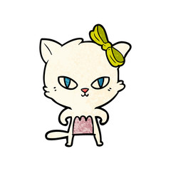 cute cartoon cat