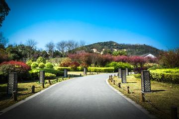 The park in Wuxi Jiangsu China