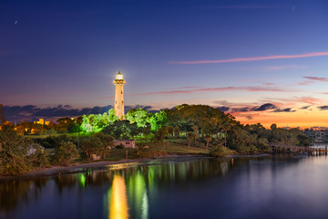 Foto op Canvas Vuurtoren Jupiter Inlet Light House