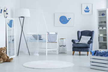 Marine baby room