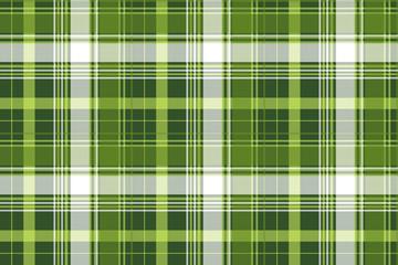 Green tartan pixel check plaid seamless pattern