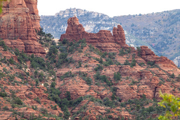 The Snoopy Rock  formation in Arizona