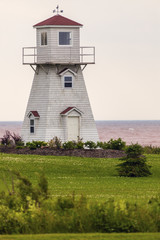 Summerside Outer Range Rear Lighthouse on Prince Edward Island