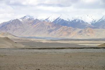 Beautiful Pamir Mountain Range, Tajikistan