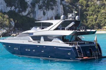 Luxury boat, Sardinia sea, Italy