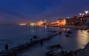 Night Shot. Tel Aviv