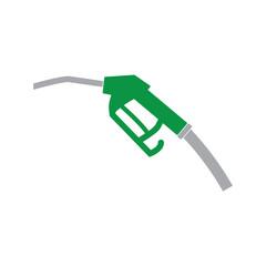 fuel pump nozzle icon- vector illustration