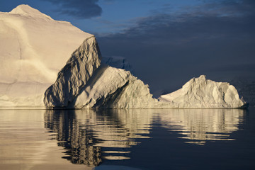 Icebergs in Scoresbysund - Greenland