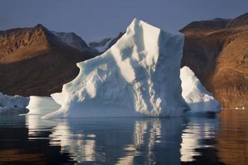 Iceberg in Scoresbysund - Greenland