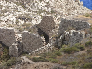 Agua Amarga, Cabo de Gata. Localidad española perteneciente al municipio de Níjar, en la provincia de Almería (España)