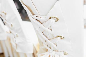 Luxury white chairs