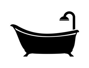 Obraz bath icon - fototapety do salonu