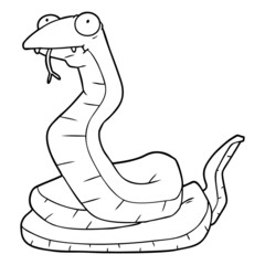 cartoon snake