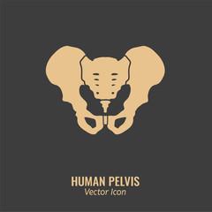 Human Pelvis Icon