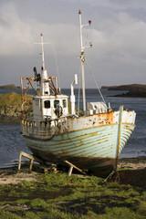 Old fishing boat - Stykkisholmur - Iceland