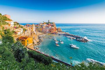 Vernazza in Cinque Terre, Liguria, Italy.