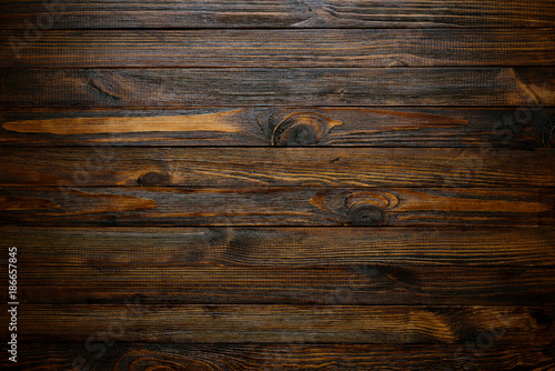 Natural Wood Texture Wood Background Dark Rustic Planks Table Top