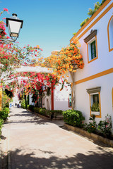 Beautiful Puerto de Mogán on Gran Canaria Island, Canary Islands, Spain