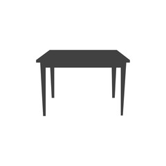Table icon vector