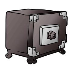 cartoon traditional safe