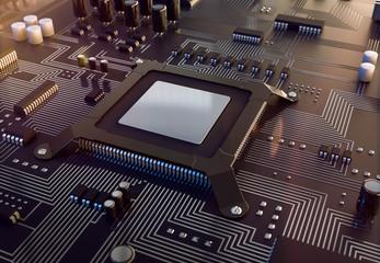 3d Prozessoer Rechenlpower Motherboard