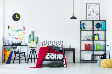 Colorful bedroom for child