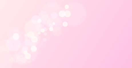 pink bokeh love Valentines day background